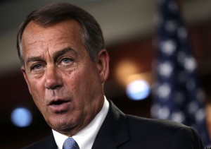House Speaker Boehner Holds Weekly Briefing