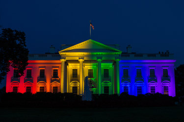 Gay Pride at The White House