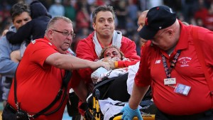 Tonya Carpenter: injured at Fenway Park in Boston