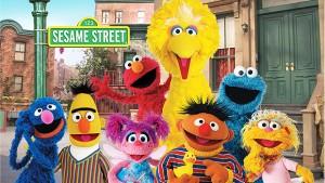 The Sesame Street cast