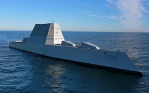 The USS Zumwalt - the Navy's newest ship