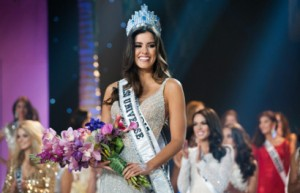 Miss Colombia, the new Miss Universe.