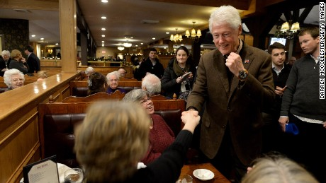 Bill Clinton returns to the campaign trail