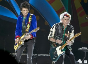 Ron Wood and Keith Richards in Havana (AP Photo)