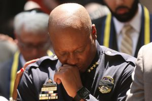 Dallas Police Chief David Brown (NYT photo)