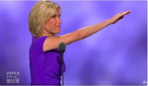 Radio host Laura Ingraham salutes the GOP nominee.