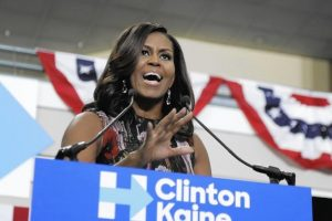 Michelle Obama campaigns for Hillary Clinton