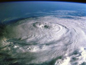 Hurricane Matthew from above