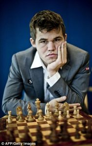 World chess champion, Magnus Carlsen (Getty Images)