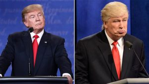 Donald Trump and Alec Baldwin. Which is which?