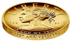 The new Lady Liberty coin