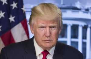 The President's official portrait - would you trust him?