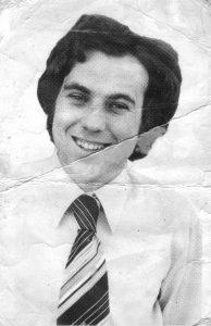 Mark Merenda circa 1972