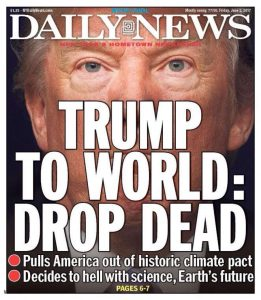 The NY Daily News gets it right, again.