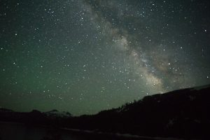 A friend recently published her photos of the Milky Way. (Photo by Annie Lu)