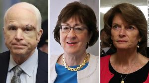 Senators McCain, Collins and Murkowski: This week's heroes