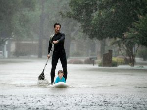 Rescue in Houston (Associated Press Photo)