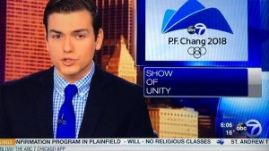 At least one TV news show had a little problem with the location of the Winter Olympics.
