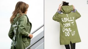 Melania's fashion choice